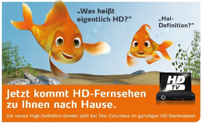HDTV Pakete bei Telecolumbus