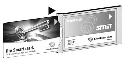 Kabel Deutschland CI+ Modul mit Einschub