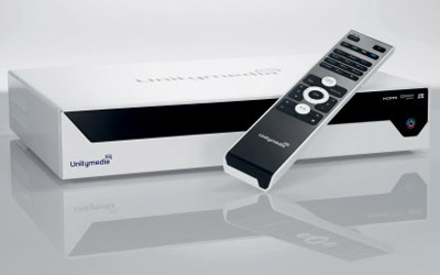 Unitymedia HD Box - Receiver für Unity Media HDTV