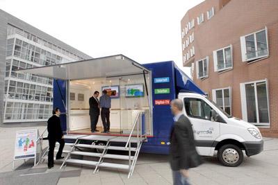 Unitymedia Infomobil / mobiler Shop für Bestellung unterwegs