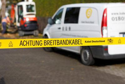 Kabel Deutschland Breitband Kabel Netzausbau Internet