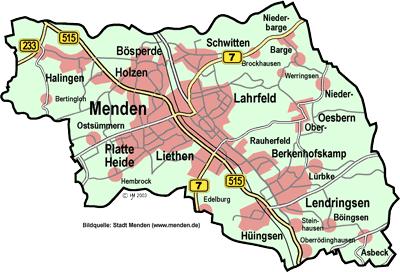 In der Stadt Menden per Unitymedia schnell im Internet surfen