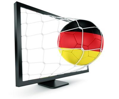 Fußball Bundesliga in 3D mit Bezahlfernsehen Sky 3DTV