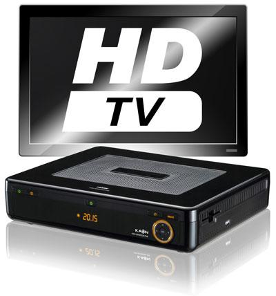 Telecolumbus HD Receiver und HDTV Rekorder mit Festplatte für zeitversetzes Fernsehen