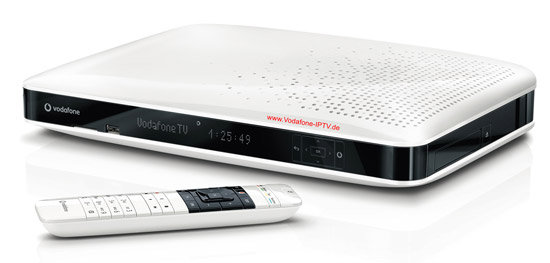 Vodafone IPTV - Fernsehen per Vodafone Mediabox / TV per Internet