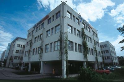 Kabelanbieter Primacom - Gebäude des Anbieters in Leipzig