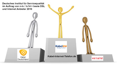 kabel deutschland platz 2 der internetanbieter laut service studie. Black Bedroom Furniture Sets. Home Design Ideas