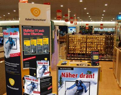 Kabel Deutschland Beratung im Shop / Filiale vor Ort