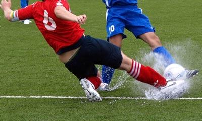 Sport erleben im Fernsehen - z.B. Fußball