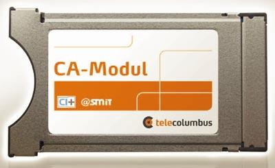 Telecolumbus CI+ / CI-Plus Modul für Digitalfernsehen