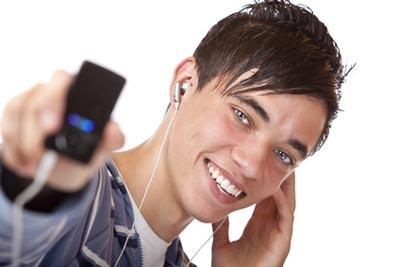 Musik hören im Kabel Deutschland Kundenportal