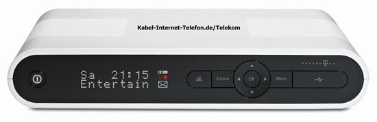Telekom Media Receiver MR303 für Entertain in schwarz
