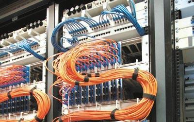 Unitymedia Verteiler / Netzwerk Schaltschrank - Netzausbau von Breitband Internet