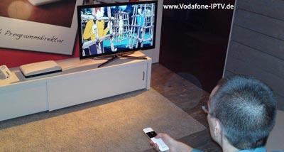 Vodafone TV / Vodafone IPTV - Fernsehen per DSL oder VDSL Anschluss