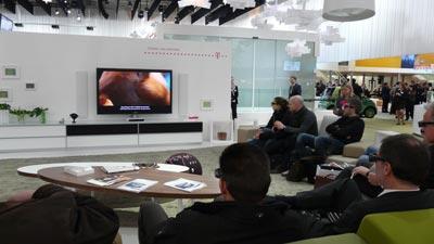 3DTV / 3D-Fernsehen auf der CeBIT am Beispiel Telekom Entertain 3D