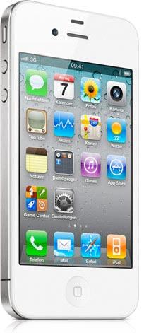 iPhone 4 in weiß - jetzt bei Telekom, Vodafone und O2 erhältlich