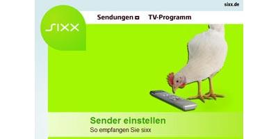 Fernsehsender Sixx wird in ersten Kabelnetzen analog eingespeist