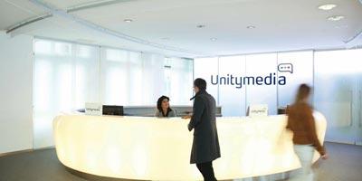 Siebzigste Unitymedia Filiale / Shop eröffnet - in Gummersbach