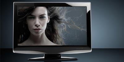 Flachbildschirme sind bis zu 82 Prozent leicher als Röhren-Fernseher