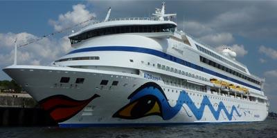 Internet auf hoher See: AIDA Flotte senkt Tarife für's Surfen