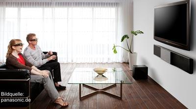 3D Fernseher - TV Hersteller planen einheitliche 3D Shutterbrillen