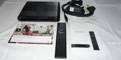 Telekom Media Receiver 102 / Entertain MR102 Praxistest / Testbericht