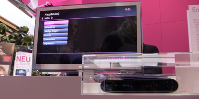 Telekom Highlights auf der IFA 2011 (Video): Entertain Sat, LTE, WLAN