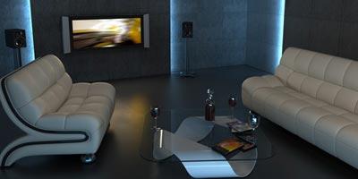 3D Fernsehen mit Shutterbrille oder Polfiilterbrille