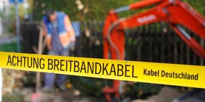 Meldorf + Wacken mit Kabel Deutschland Breitbandkabel erschlossen