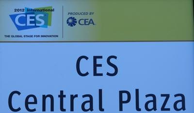 CES 2012 - Consumer Electronics Show in Las Vegas