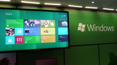 CES 2012: Microsoft Windows 8 Vorstellung