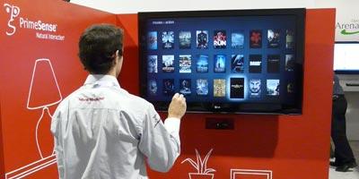 CES 2012: PrimeSense Steuerung des TV statt Fernbedienung (Video)