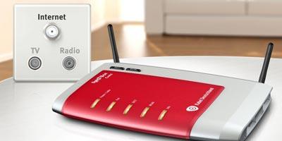 Kabel Deutschland bietet Kabelmodem mit interiertem WLAN Router
