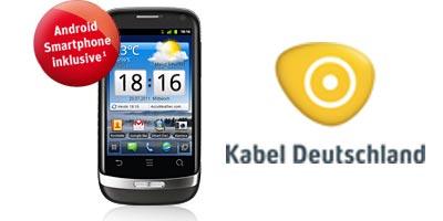 Kabel Deutschland Handy Komplettpaket mit Huawei Ideos X3 (Android)