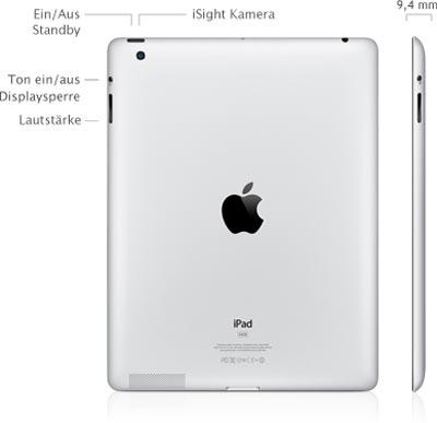 iPad 3: der neue Tablet PC von Apple mit Retina Display und mehr