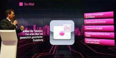 Video: Telekom stellt auf CeBIT die rechtssichere eMail (De-Mail) vor