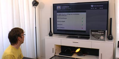 Video Installation Kabel Deutschland HD DVR XL (RCI88-1000 KDG)