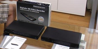Vergleich DVR Sagemcom RCI88-1000 KDG und RCI88-320 KDG (Video)