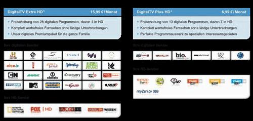 TeleColumbus nun mit 48 HD Sendern / neue PayTV + HDTV Tarife
