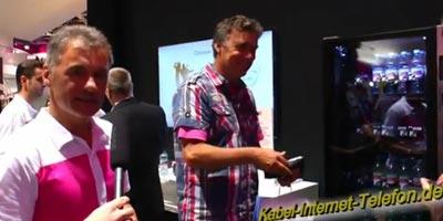 Telekom auf der IFA 2012: neue Apps / Anwendungen und Geräte