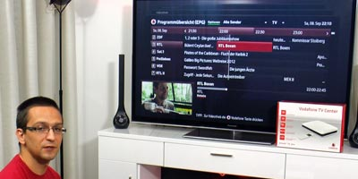 Vodafone TV Testbericht: Video mit Praxistest Vodafone TV Center