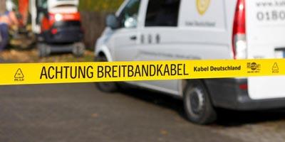 Aschaffenburg von Kabel Deutschland mit 100Mbit erschlossen