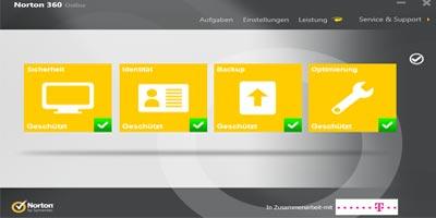 Telekom Sicherheitspaket: neue Version Norton 6.0 (2012 / 2013)