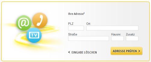 Kabel Deutschland Verfügbarkeitscheck