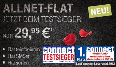 Telekom Allnet Special Tarif im D1-Netz für nur 29,95 Euro